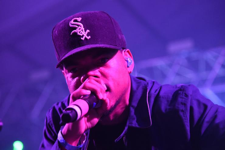 Chance The Rapper performing live