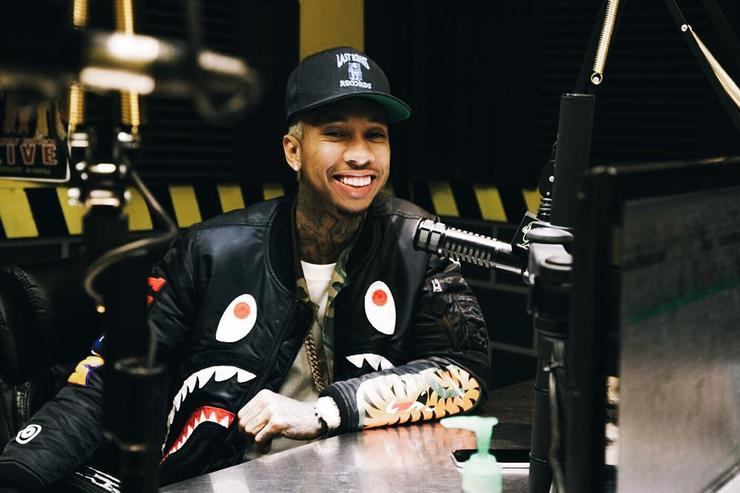 Tyga on radio interview