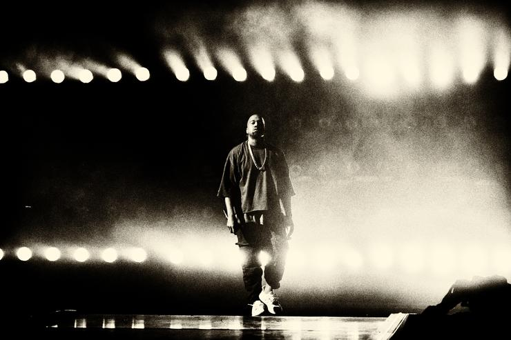 Recording artist Kanye West performs onstage at the 2015 iHeartRadio Music Festival at MGM Grand Garden Arena on September 18, 2015 in Las Vegas, Nevada. (Photo by