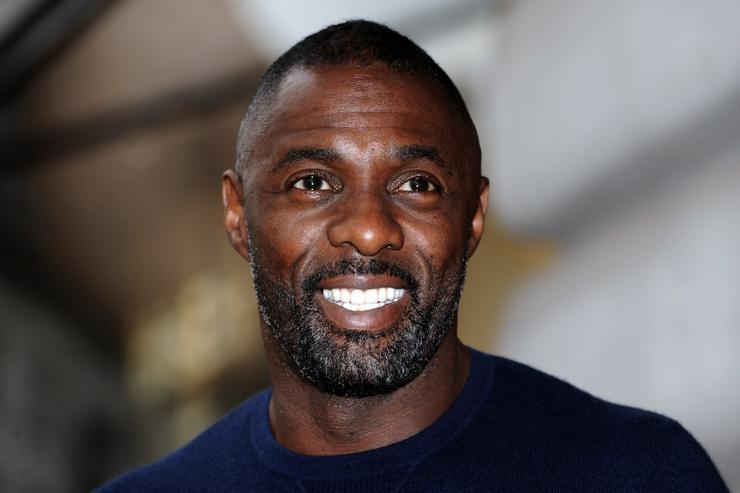 Idris Elba Superdry Launch AW15 Premium Menswear Collection - Photocall