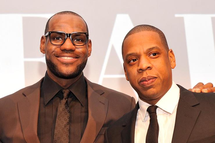 Mike Krzyzewski, Lebron James, and Jay-Z attend the 2012 Sports Illustrated Sportsman of the Year award presentation at Espace on December 5, 2012 in New York City. (Photo by Stephen Lovekin/Getty Images)