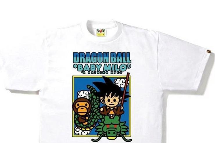 Bape x Dragon Ball collection.