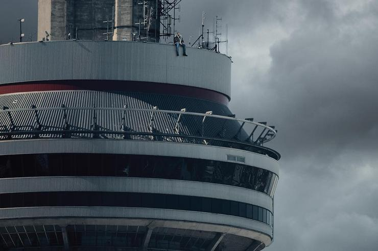"Drake's ""VIEWS"" album cover"