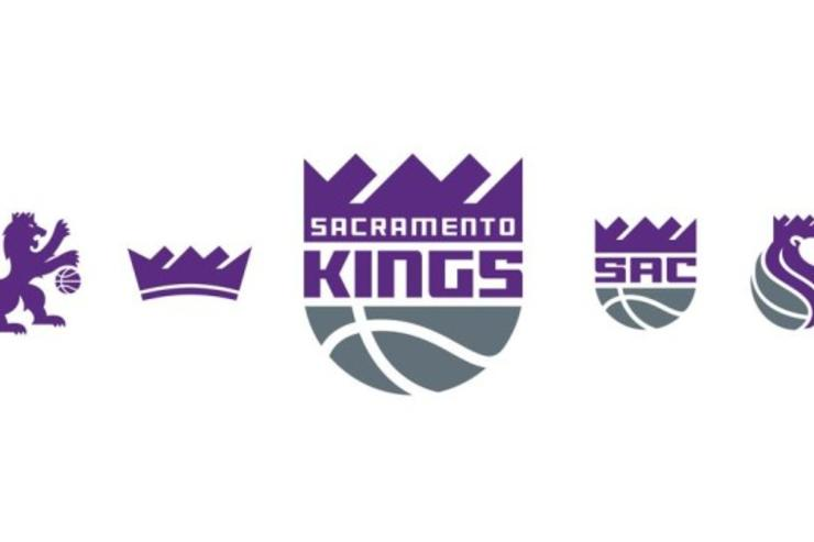 The new Sacramento Kings branding.