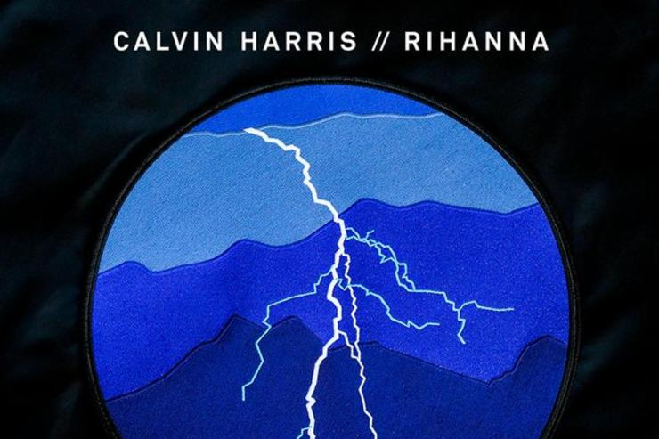 "single artwork for ""This Is What You Came For"" with Calvin Harris & Rihanna"