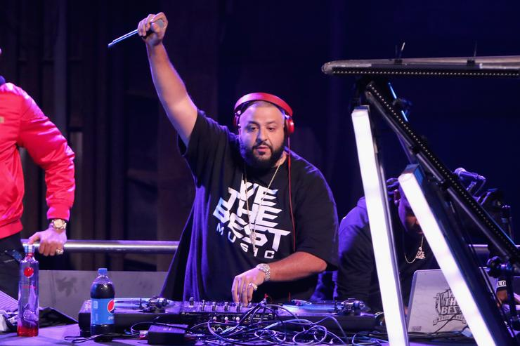 DJ Khaled performs during Pepsi Super Friday Night at Pier 70 on February 5, 2016 in San Francisco, California.