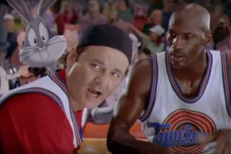 "Shot from the ""Space Jam"" Trailer"
