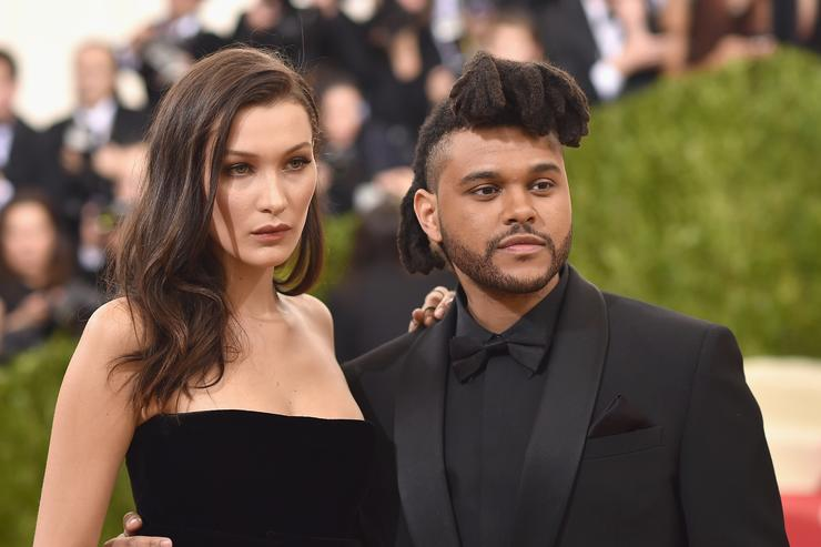Bella Hadid and The Weeknd at the Met Gala 2016