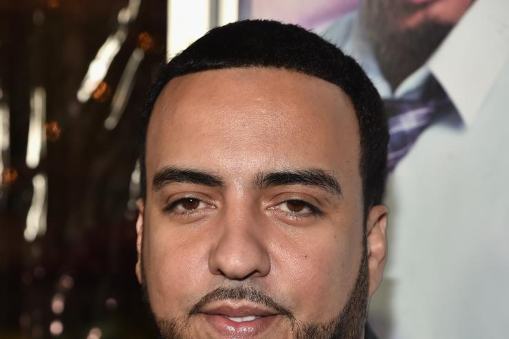 "French Montana at the premiere of ""The Perfect Match"""