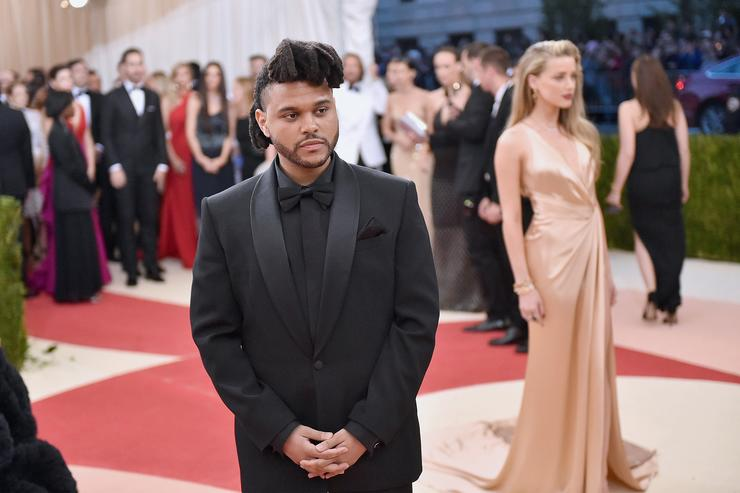 The Weeknd at the Met Gala 2016