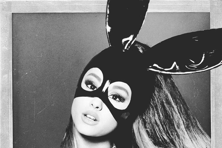 "Ariana Grande's ""Dangerous Woman"" album cover"