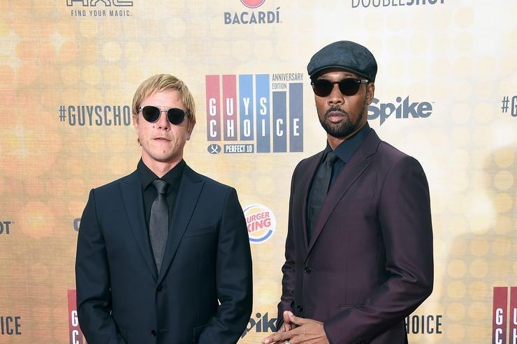 RZA and Paul Banks