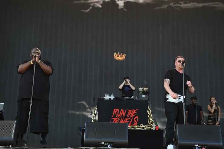 Run The Jewels performing at Coachella