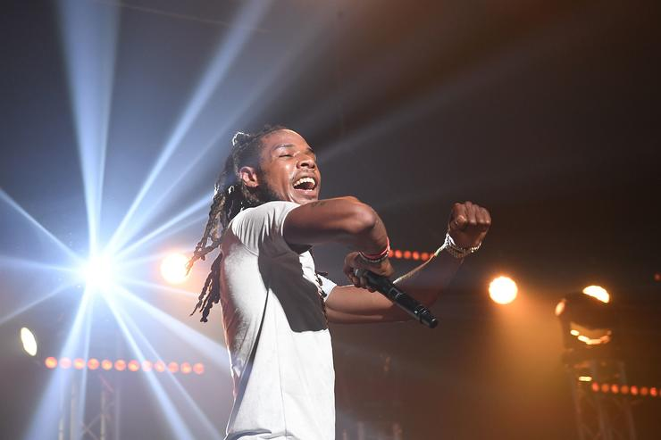 Fetty Wap performs at Gucci Mane's homecoming concert