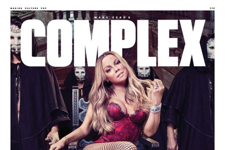 Mariah Carey covers Complex