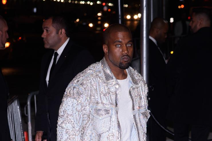 Kanye West at the Met Gala 2016