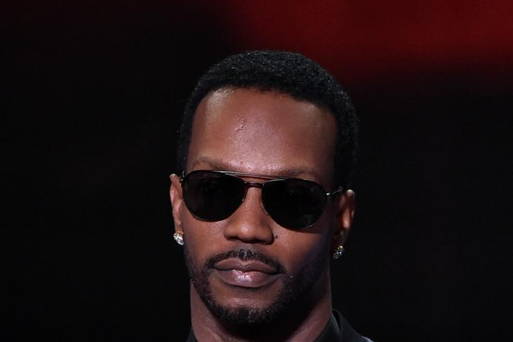 Juicy J at iHeart Radio Awards