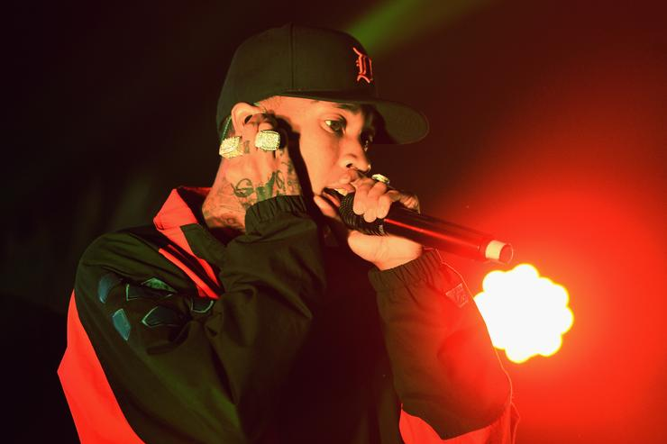 Tyga at MTV Fandom Awards San Diego
