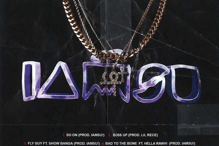 "IAMSU!'s ""6 Speed"" back cover."