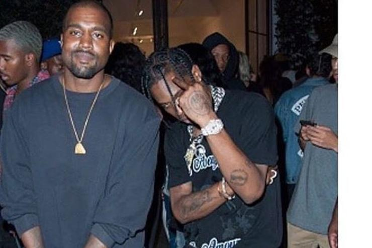 Kanye West & Travis Scott