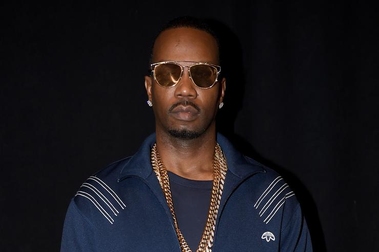 Juicy J at Hood By Air NYFW