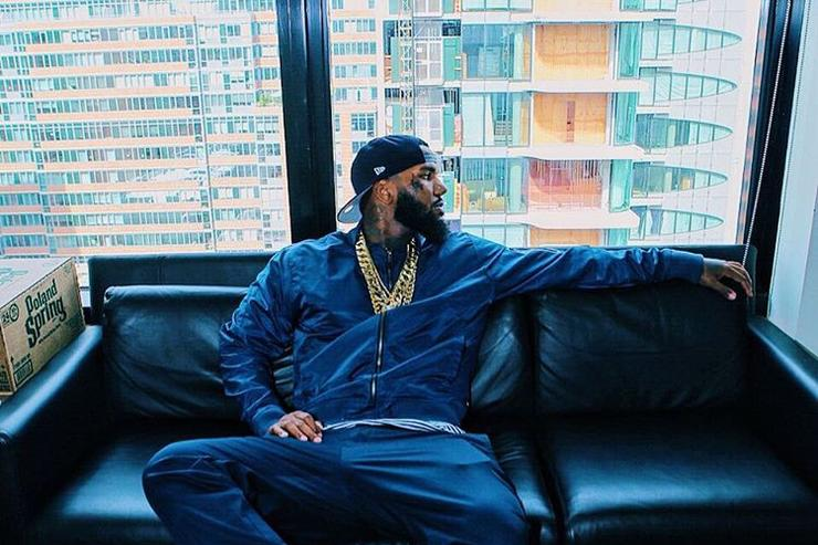 The Game chilling
