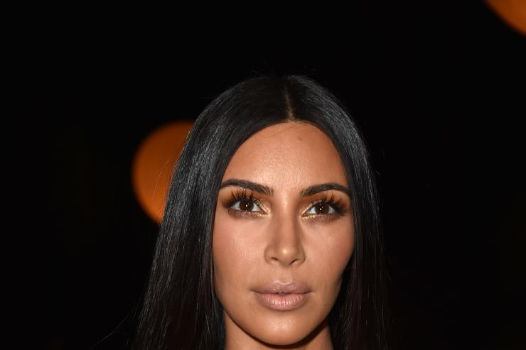 Kim Kardashian at Givenchy fashion show