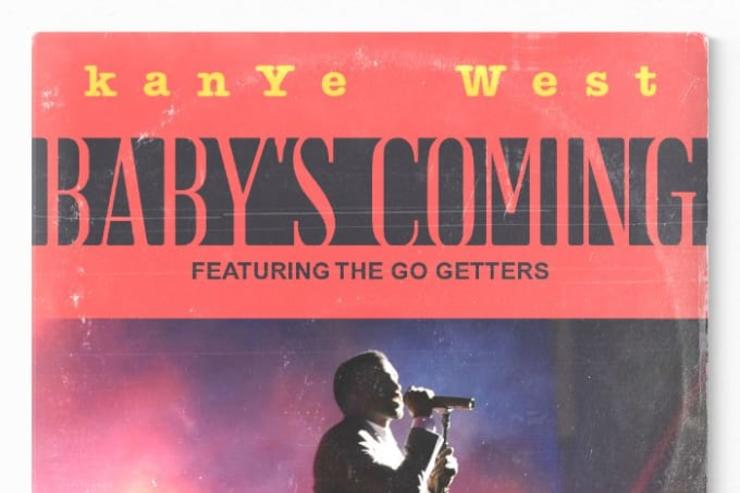 """Kanye West """"Baby's Coming"""" artwork"""