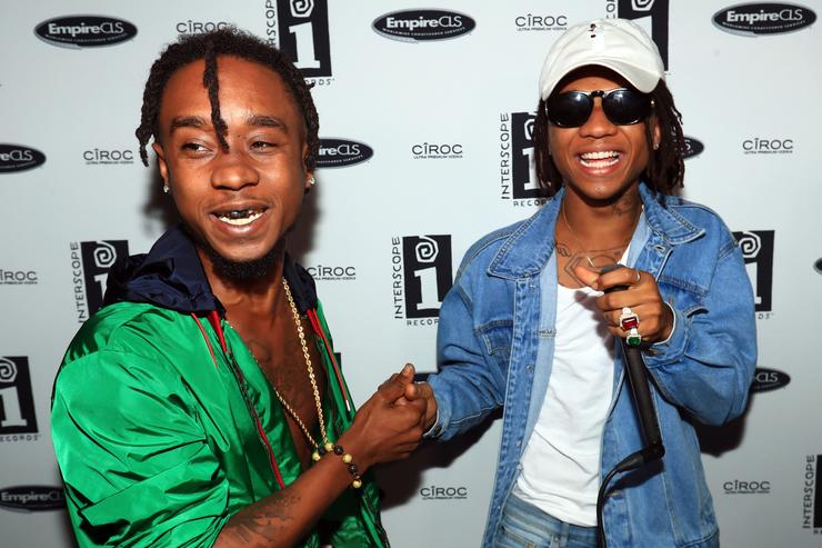 Rae Sremmurd at Interscope BET Party