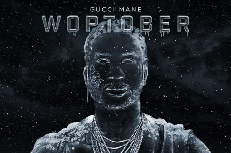 "album cover for Gucci's ""Woptober"""