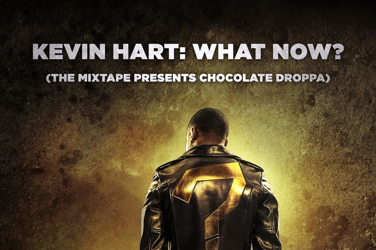 """album cover for Kevin Hart's """"What Now?"""" soundtrack"""