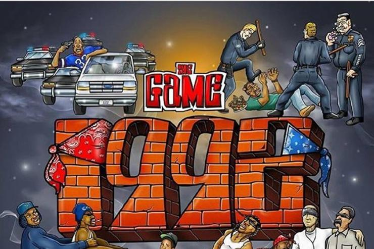"""The Game's album cover for """"1992"""""""