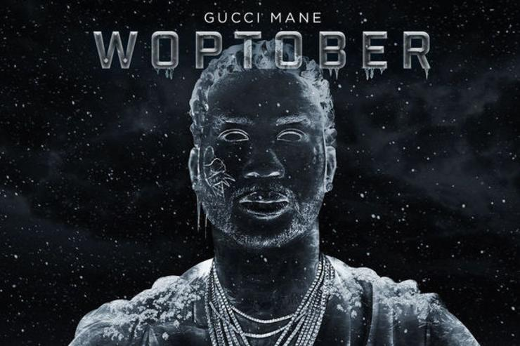 "Gucci Mane album cover for ""Woptober"""