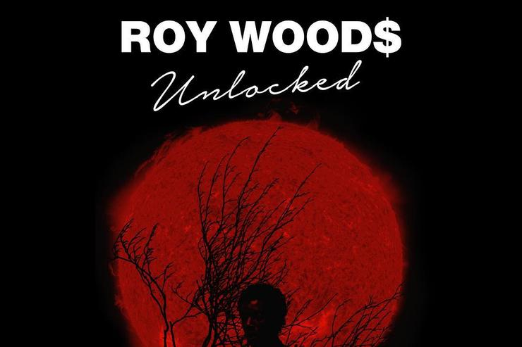 """Unlocked"" Tour flyer for Roy Wood$"