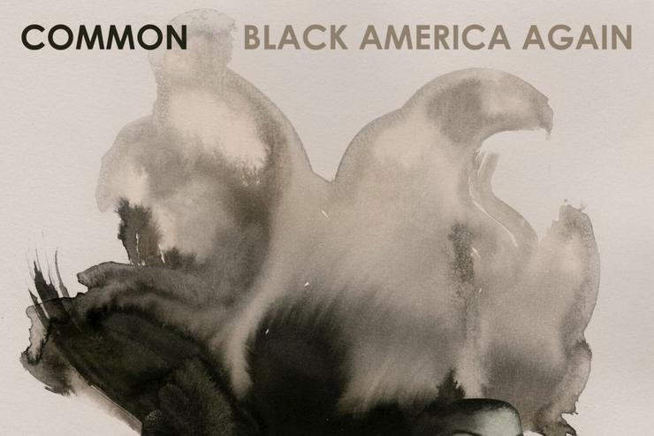 "Common's ""Black America Again"" album cover"