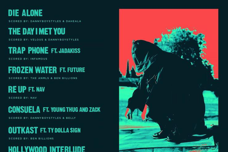 """tracklist & back cover for Belly's """"Inzombia"""""""