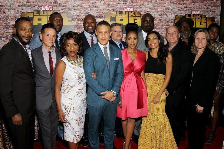 The Cast of Luke Cage.