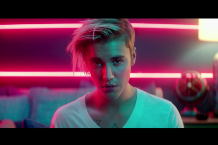 "Justin Bieber's ""What Do You Mean"" Video."