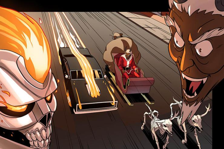 "Marvel's ""Ghost Rider X-Mas Special"""