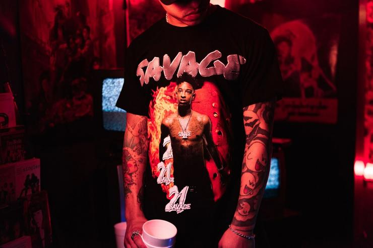 21 Savage x Young & Reckless.