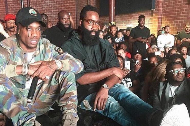 Travis Scott & James Harden