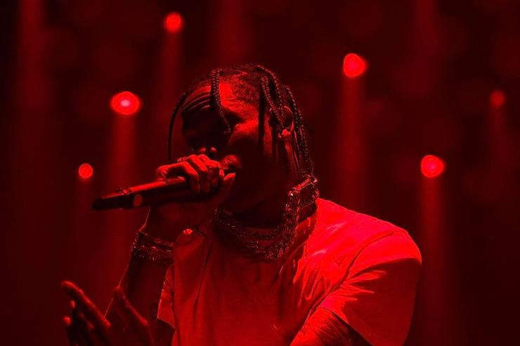 Travis Scott on stage