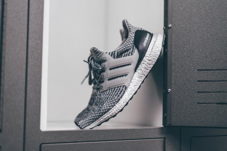 S Adidas Ultra Boost 3.0 LTD Gray Leather Cage BB 1092 Sizes