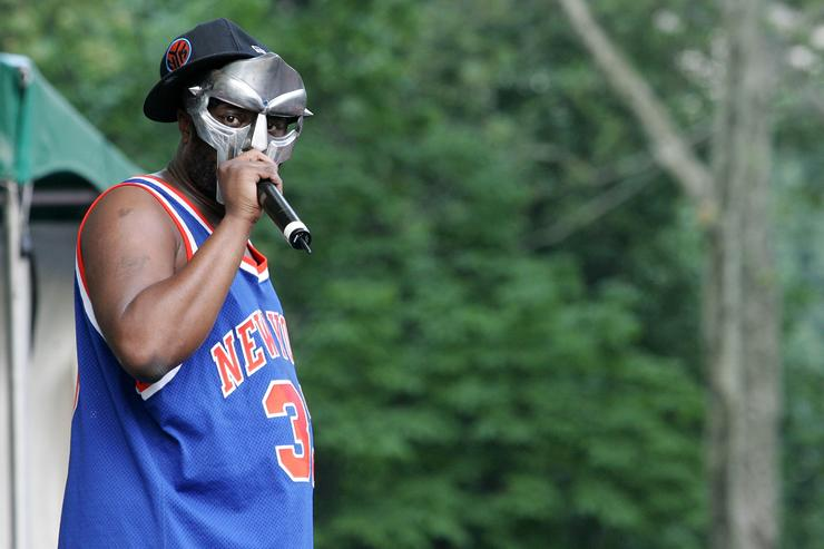 MF Doom on stage