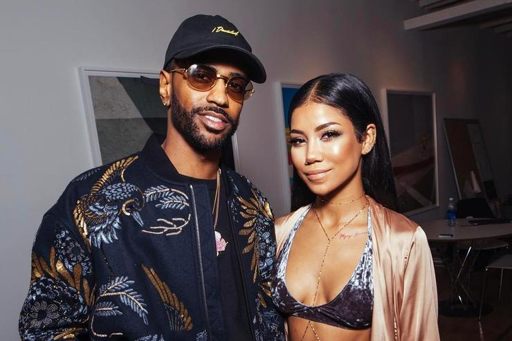 Big Sean and Jhene Aiko together