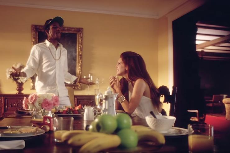 """ASAP Rocky and Lana Del Rey in """"National Anthem"""" music video"""