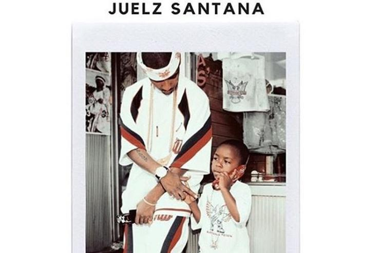 """The Get Back"" cover for Juelz Santana"