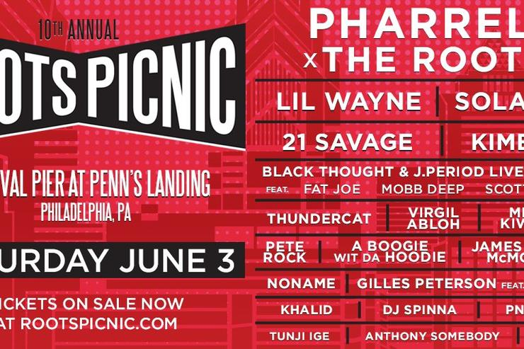10th annual Roots Picnic lineup announced