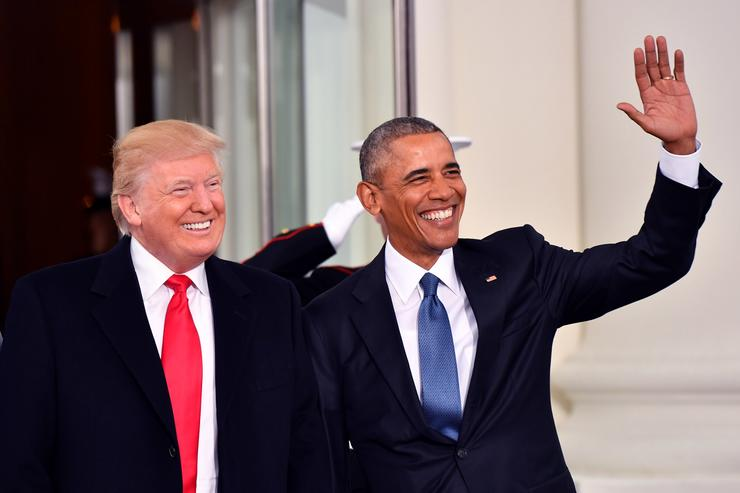 Donald Trump x Barack Obama