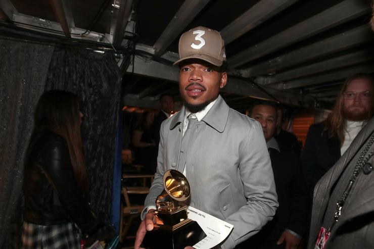 Chance at the Grammys